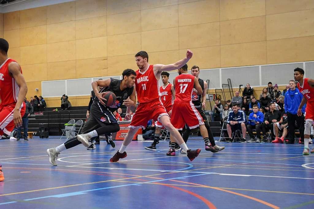 Oliver Stanley - Derby Trailblazers - Division 1 Basketball