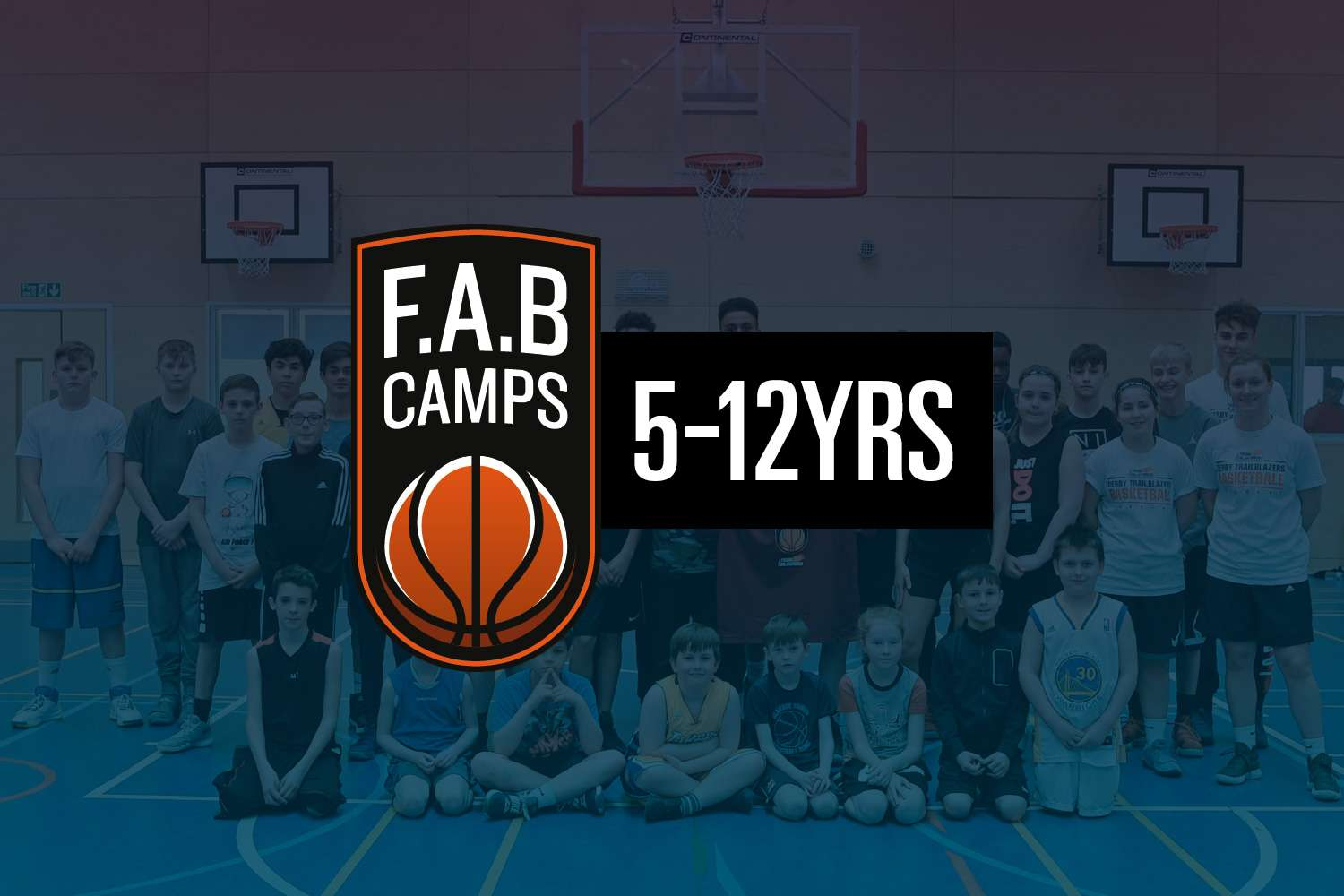F.A.B 5-12Yrs Summer Basketball Camp
