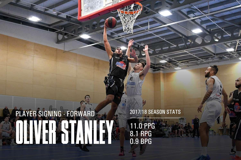 Oliver Stanley returns to Derby Trailblazers