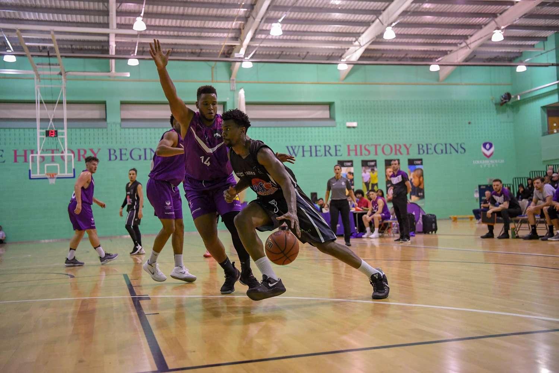 Malcolm Smith - Derby Trailblazers - Drives To The Basket