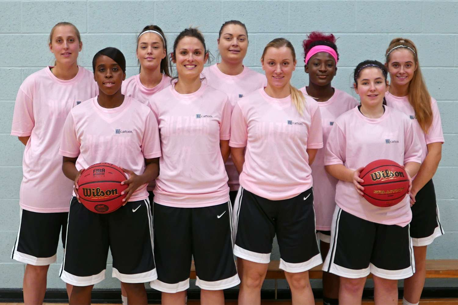 Derby Trailblazers Womens D2 Team